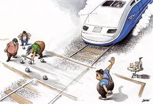 TGV en retard