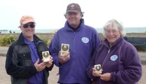 Ian (2nd), Rohan (winner), Ann (3rd)
