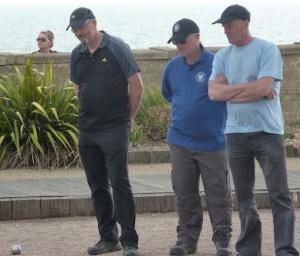 Crowbrights: (L) Tony Mann, Ian Maynard, Les MacDonnell