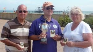 Club Singles David, Ian (winner), Ann (R-U)