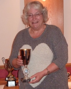 Ann Wordsworth, New Club President  and Woman Player of the Year