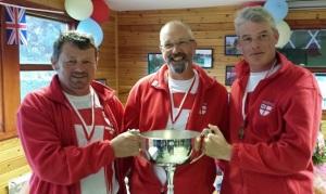 (L) Jeff Mitchell, Tony Mann, Gareth Jarvis