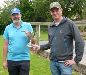Tony Mann and Gareth Jarvis SXP Doubles Champions 2015