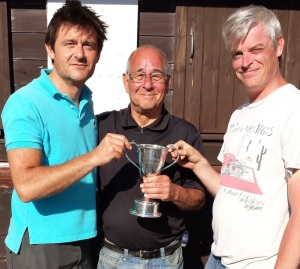 SXP Triples Champions 2015 (L) Stephan Alfred, David Alfred, Gareth Jarvis